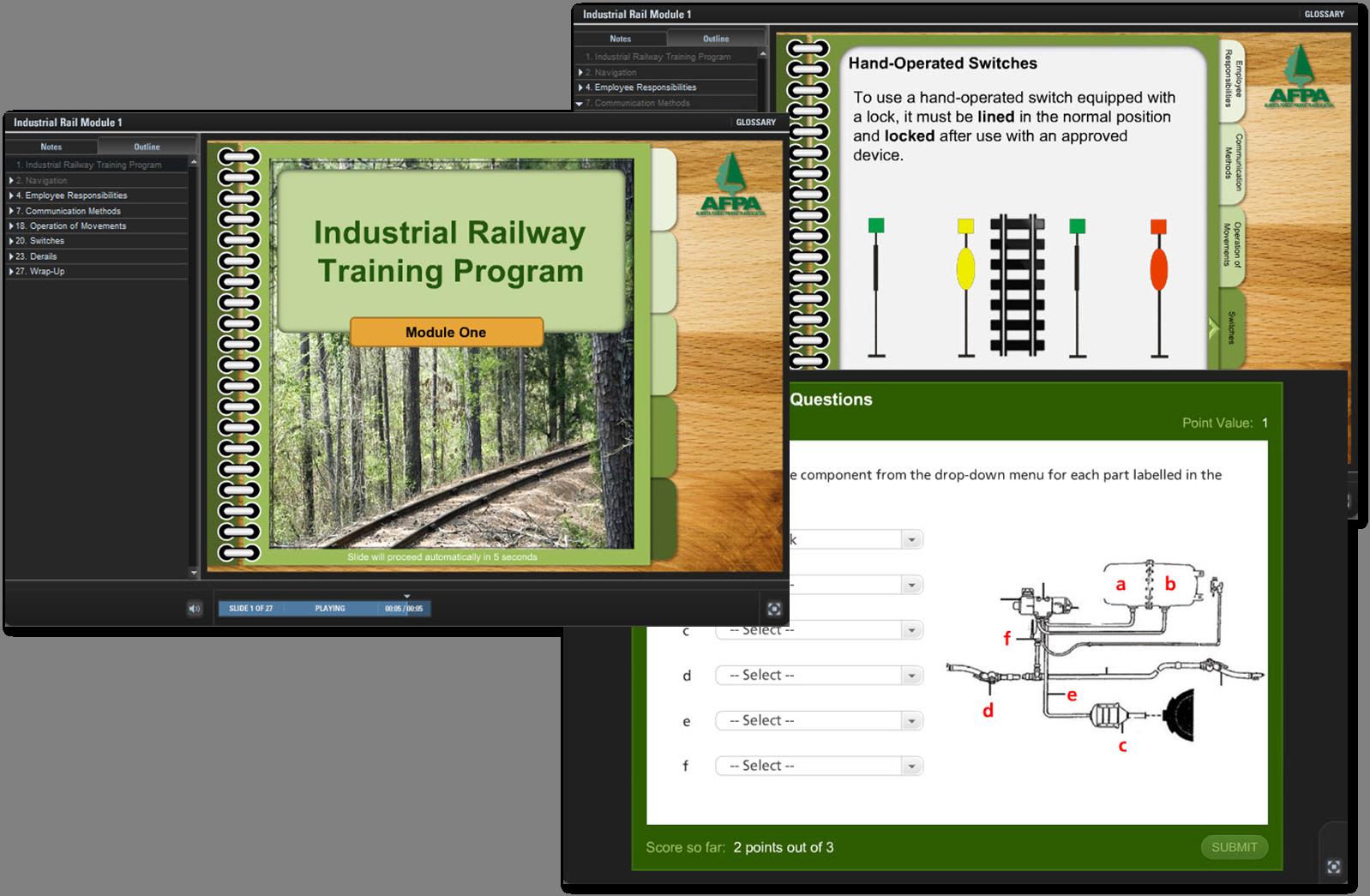 AFPA Industrial Railway