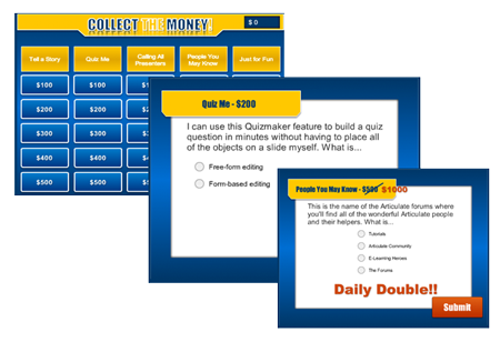 Collect the Money Review Activity