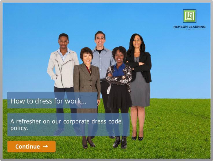 Dress Code – An Instructional Design Case Study
